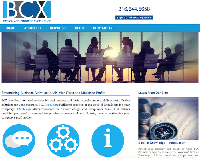 BCX Consulting Website