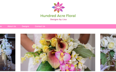 Hundred Acre Floral Website