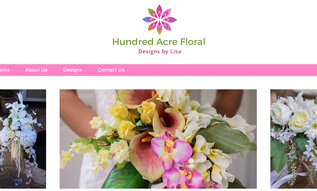 Hundred Acre Floral Website