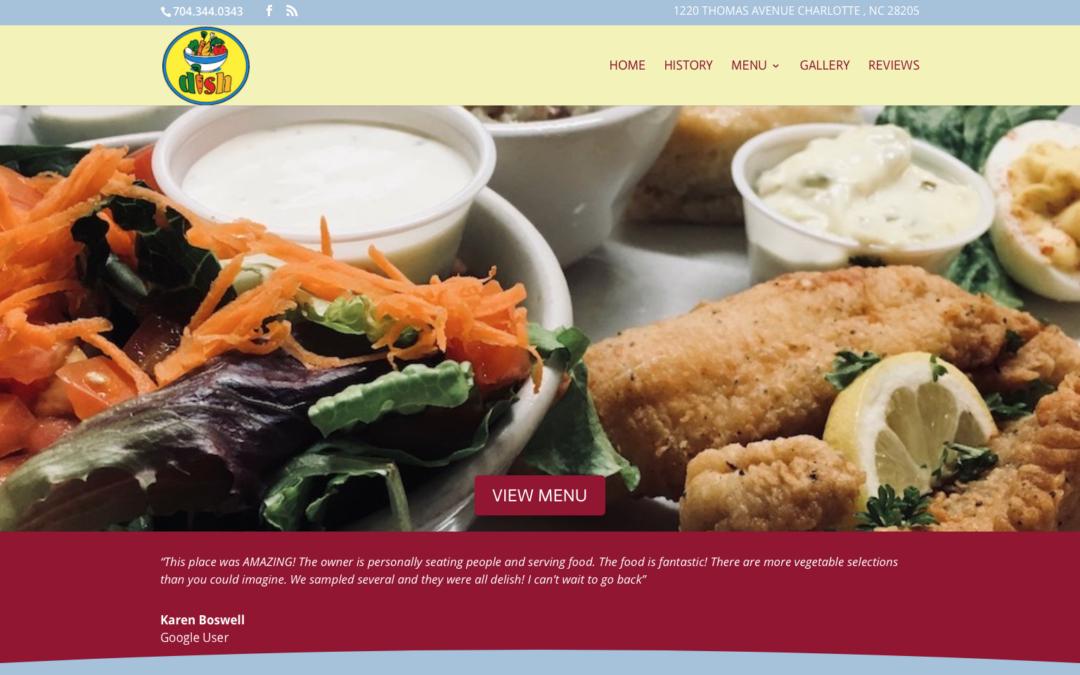 Dish Website Redesign