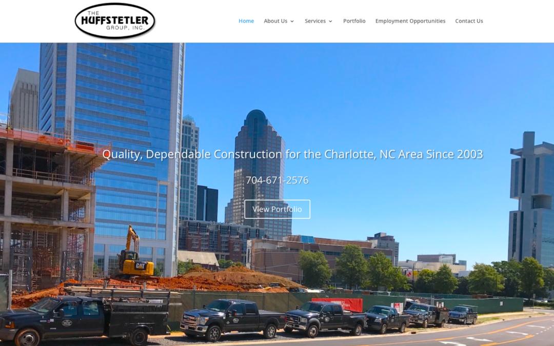 The Huffstetler Group Website Redesign